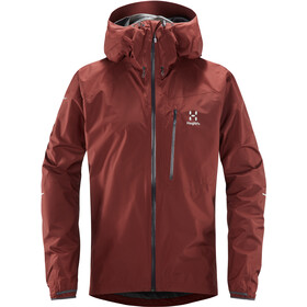 Haglöfs L.I.M Jacket Men maroon red